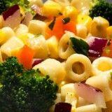 Broccoli and Corn Ditalini Salad